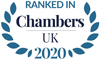 Chambers UK 2020 - Ranked in
