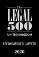 Legal 500 2020 - Recommended Lawyer