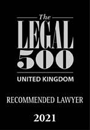 Legal 500 2021: Recommended Lawyer
